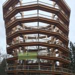 Nicht nur ein faszinierendes architektonisches Bauwerk, sondern auch ein nachhaltiges Erlebnis bietet der heute neu eröffnete Baumwipfelpfad Ebrach.