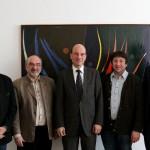 Treffen mit dem Bayerischen Landesbeauftragten für Datenschutz Dr. Petri.