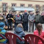 Beeindruckenden Demo auf dem Marktplatz und eine tollen Bürgerbeteiligung.