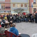 Am Tag gegen Rassismus sagt Karlstadt 'Fremdenhass NEIN danke' mit einer beeindruckenden Demo auf dem Marktplatz und einer tollen Bürgerbeteiligung.