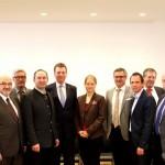 Direkter Draht zum DB-Konzernbevollmächtigten: Klaus-Dieter Josel im Bayerischen Landtag