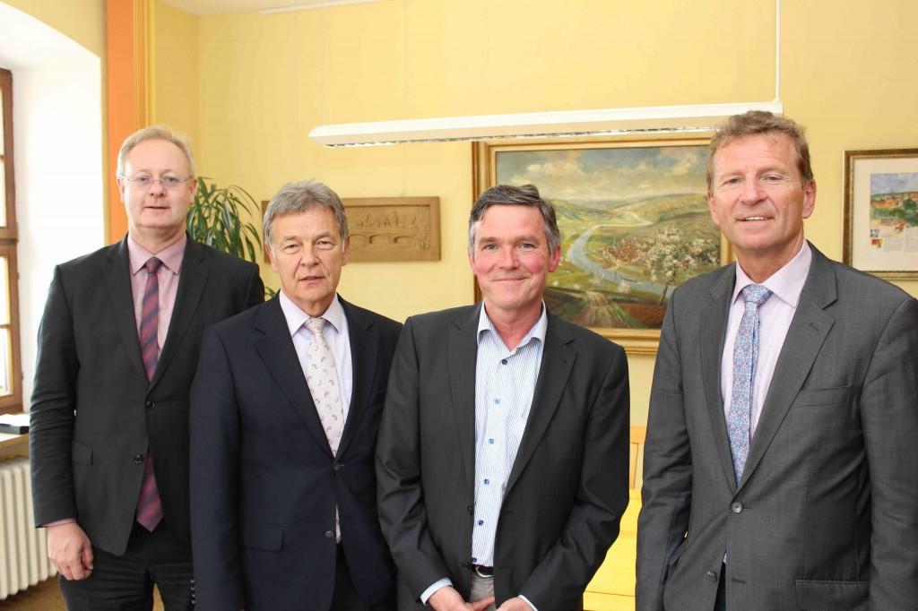Bernhard Pohl, Joachim Hanisch, Peter Kornell, Günther Felbinger