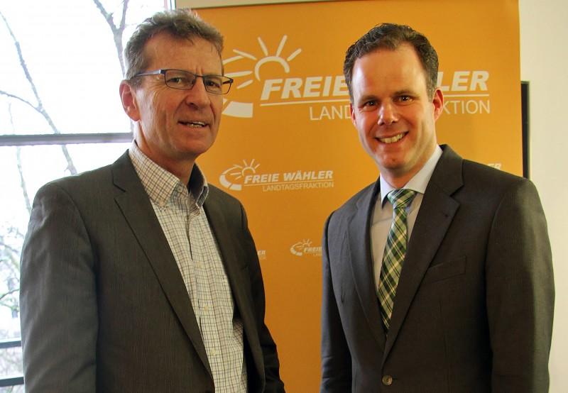 MdL Günther Felbinger und Dr. Markus Schmitz